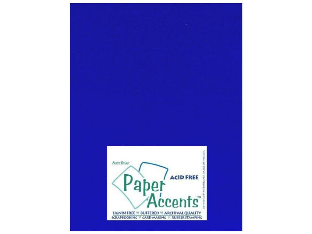 Cream colored cardstock paper studio - Amazon Com Paper Accents Cardstock 8 5x11 Smooth Royal Blue 65lb 25 Pack