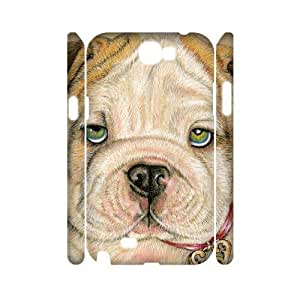 case Of Cute Dog Customized Hard Case For Samsung Galaxy Note 2 N7100