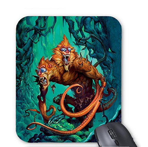 (Two-headed monster Mouse pad 9.84 x 11.8 inch)