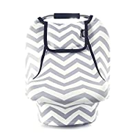 Stretchy Baby Car Seat Covers For Boys Girls, Infant Car Canopy for Winter Au...