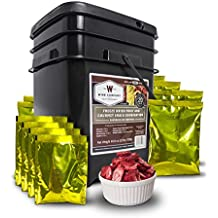 Wise Company Freeze Dried Fruit and Gourmet Snack Combination-120 Servings