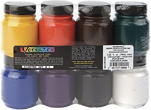 Jacquard Versatex Printing Ink Set #1 ()
