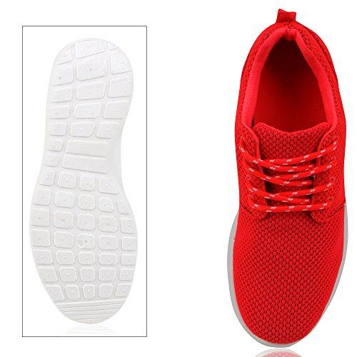 Flache Neonpink Damen Herren Sportschuhe Laufschuhe napoli Jennika Freizeitschuhe Sneakers Unisex Profilsohle fashion Schnüren aHq57wT