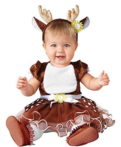 Seasons Inc Baby Infant Deer Tutu Dress Halloween