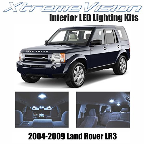 xtremevision land rover lr3 2004 2009 18 pieces cool white import it all. Black Bedroom Furniture Sets. Home Design Ideas