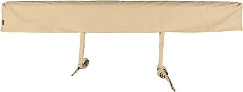 ADVANING AC1600-P861T Protective Cover for 16 Wide Retractable Awnings, Heavy Duty Weather Proof Polyester Fabric, Beige
