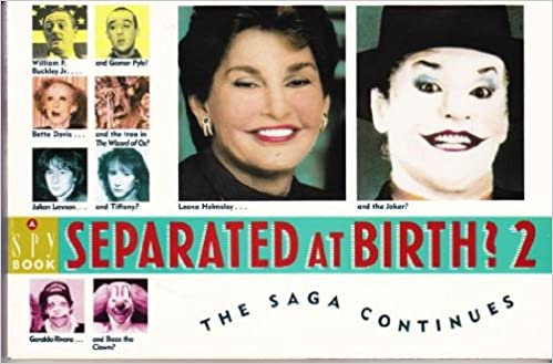 Separated At Birth >> Separated At Birth 2 Spy Magazine 9780385410991 Amazon Com Books