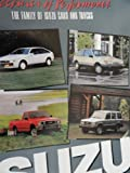 1987 Isuzu Impulse / I-Mark / Trooper / Truck Sales Brochure