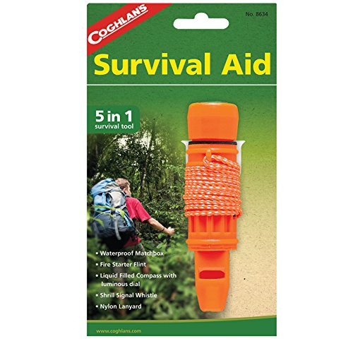 Coghlan's 8634 5 In 1 Survival Aid