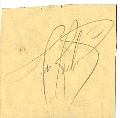 AUTOGRAPHED Tim Richmond #27 Folgers Racing Driver EXTREMELY RARE Vintage Pencil Signature Signed NASCAR Collectible Piece of Paper with JSA COA