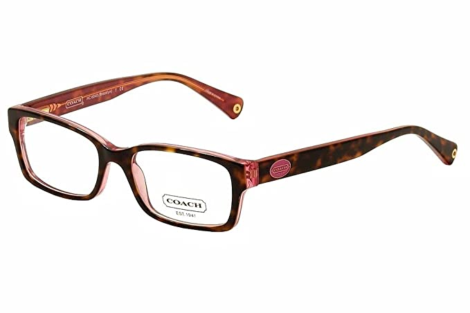 a8652ba1ea80 Image Unavailable. Image not available for. Colour: Coach Designer Eyeglasses  Brooklyn HC6040-5115 in Tortoise ...