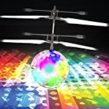Magic Sphere Hand Drone, LED Light-Up Infrared Induction Flying Helicopter Toy for Kids
