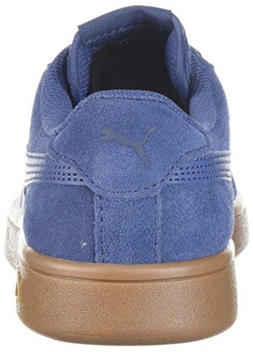 PUMA Unisex-Kids Smash v2 SD Sneaker, Blue Indigo-Blue Indigo-Peacoat, 5 M US Big Kid by PUMA (Image #2)