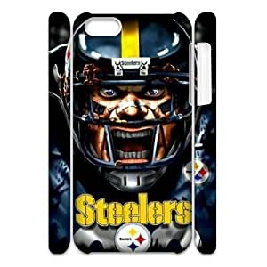 WEUKK Pittsburgh Steelers iPhone 5C 3D cover case, customized cover case for iPhone 5C Pittsburgh Steelers, customized Pittsburgh Steelers cell phone case