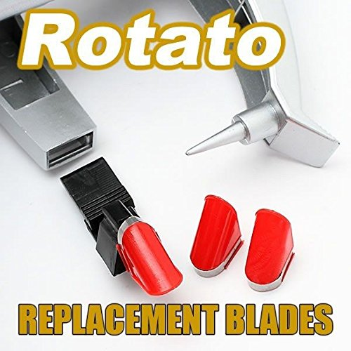 Starfrit Stainless Steel Replacement Blades for Rotato and Rotato Express, Set of 4 (Electric Express)