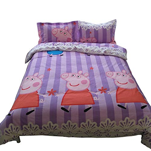 HOLY HOME Pink Peppa Pig, Kids' Birthday Gifts, Full Size 78