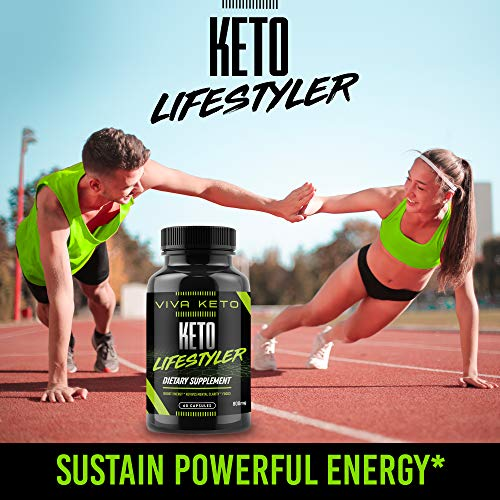 Keto Diet Pills Appetite Suppressant Supplement - Exogenous Ketones Ketogenic Diet Pills - Boosts Metabolism and Supplies Energy- 60 Capsules by Keto Lifestyler (Image #3)