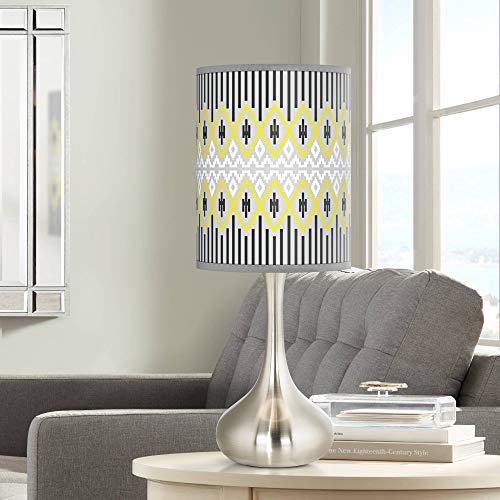 Desert Geometric Giclee Droplet Table Lamp - Giclee Glow