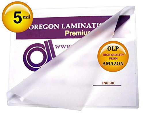 5 Mil 6 x 9 Laminating Pouches Hot Laminator Sleeves Qty 100 100 Hot Laminating Pouches