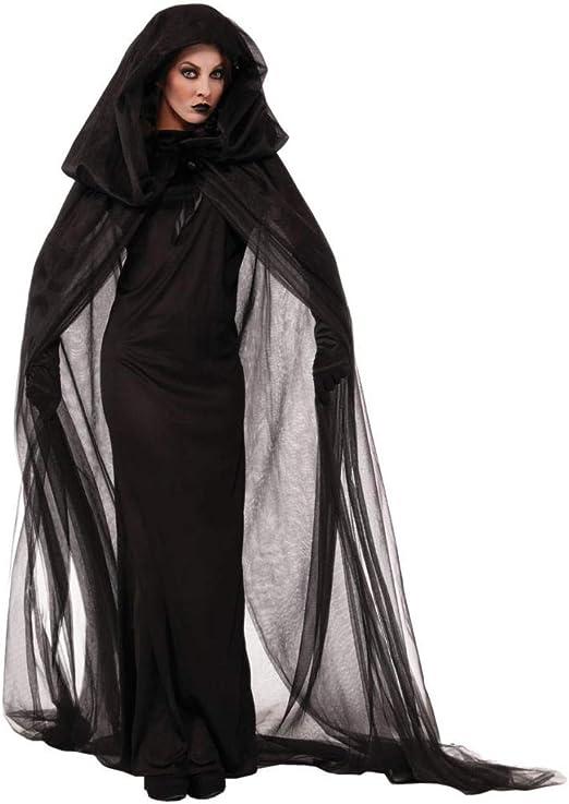 Xyfw Disfraz De Bruja De Halloween Vampiro Novia Cosplay Viuda ...