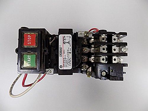 Motor Starter, NEMA Open, 3P, 115-120V, 9A ()