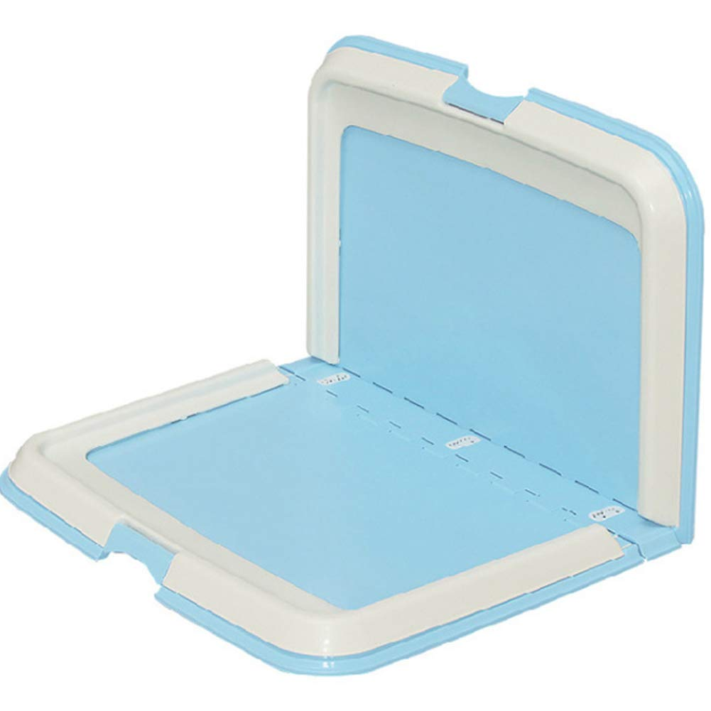 bluee Dog Toilet Potty Pad with Portable Foldable Dog Toilet Urinal For Small Medium and Large Dog