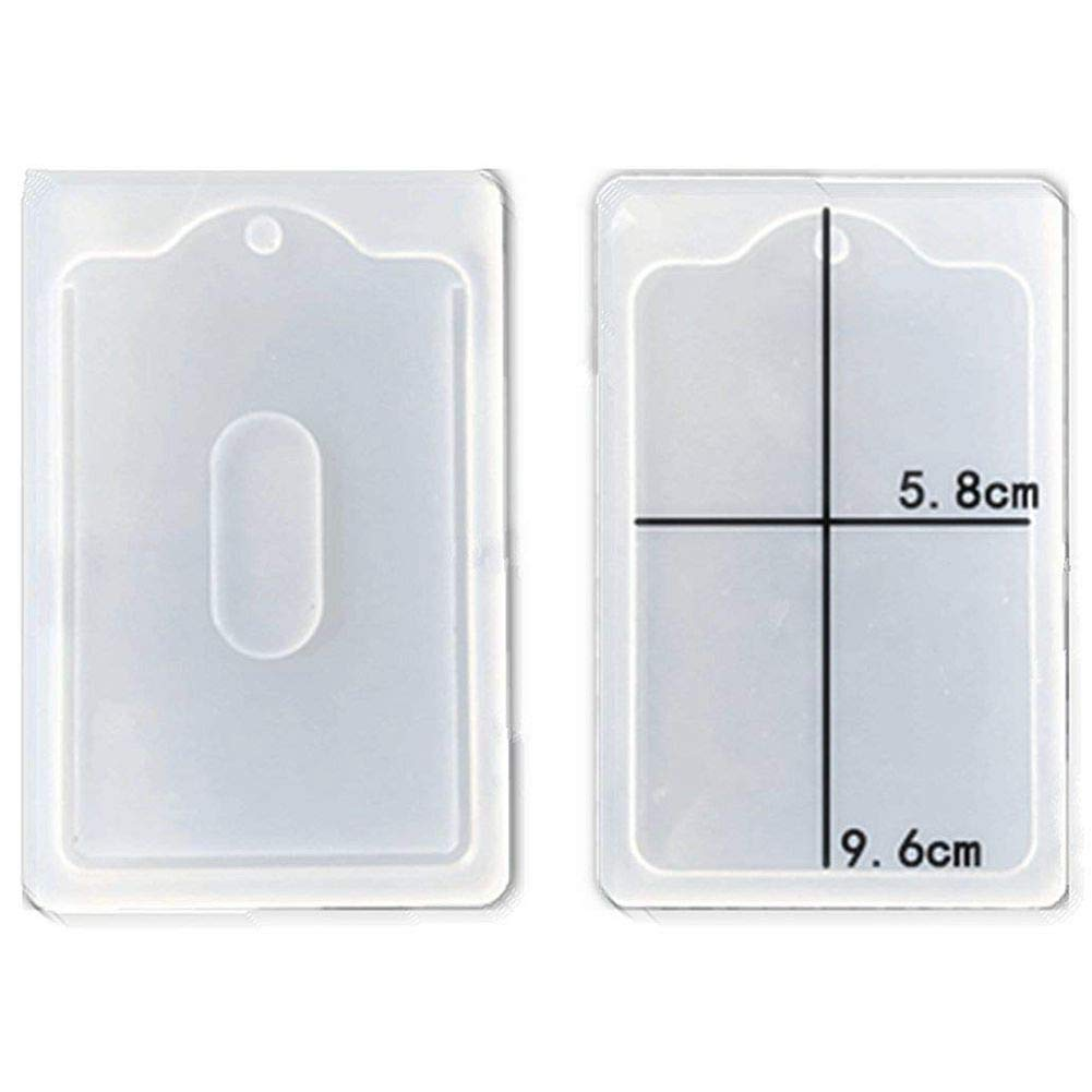 Crafting DIY Decoration Tools,mi-Transparent Resin Epoxy Making SODIAL Card ts Shape Handmade Accessories Silicone Mold,Polymer Clay Silicone Mold