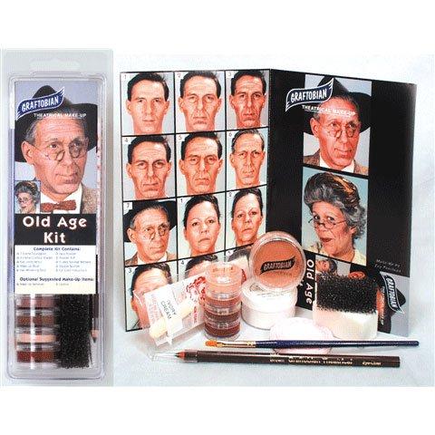Graftobian Old Age Makeup Kit -