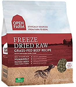 Open Farm Freeze Dried Raw Dog Food 13.5 oz (Beef)