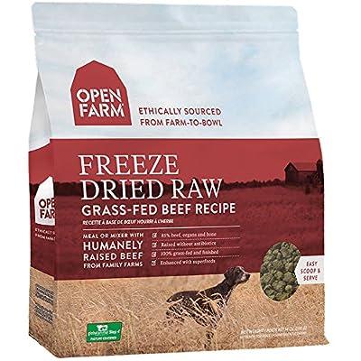 Open Farm Freeze Dried Raw Grain Free Dog Food 13.5 oz