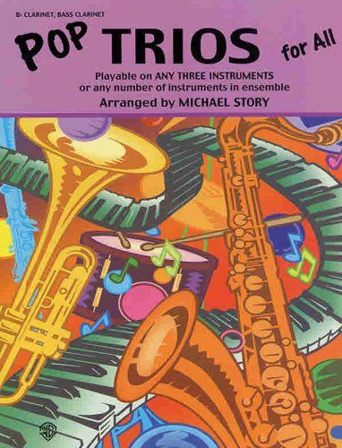 Pop Trios for All: B-flat Clarinet, Bass Clarinet (For All Series)