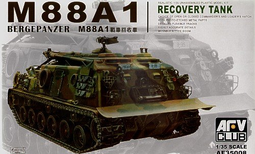 M-88A1 Bergepanzer Recovery Tank 1-35 AFV Club (Army Models To Build)