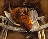Oil Painting 'Henry Varnum Poor,Dead Pheasant,about 1935' Printing On Perfect Effect Canvas , 8x10 Inch / 20x25 Cm ,the Best Wall Art Decor And Home Decoration And Gifts Is This Replica Art DecorativePrints On Canvas