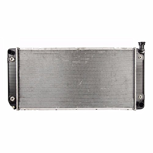 (Klimoto Brand New Radiator fits Chevy C/K Series GMC C/K Yukon 5.0L 5.7L V8 GM3010233 52491626 52465838 52465839)