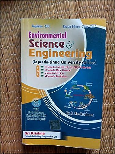 Environmental Science And Engineering Ravikrishnan Pdf