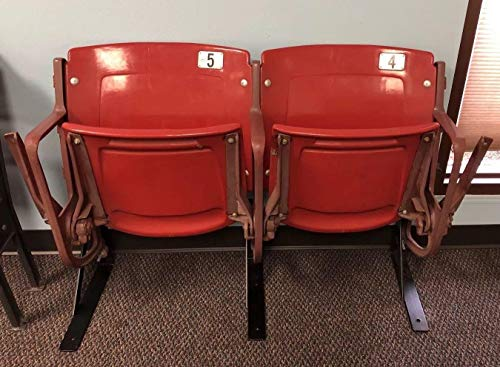 St. Louis Cardinals Game Used Busch Stadium Seats #4 & #5 MLB HOLO Pujols Molina - Game Used MLB Stadium (St Louis Cardinals Stadium Seats)