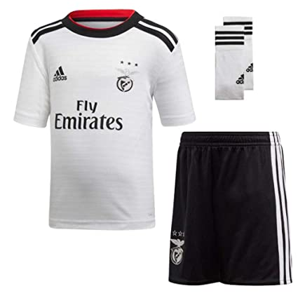 d517a5042 Image Unavailable. Image not available for. Color  adidas 2018-2019 Benfica  Away Mini Kit