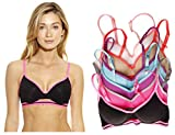 B40015-A-36D Just Intimates Women's Bras (Pack of 6)