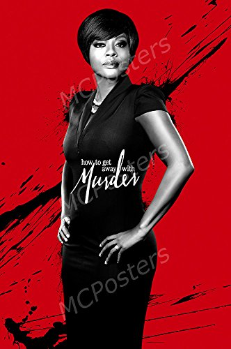 "MCPosters How to Get Away with Murder TV Show Series Poster GLOSSY FINISH - TVS601 (24"" x 36"" (61cm x 91.5cm))"