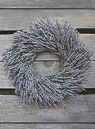 Dried Lavender Wreath