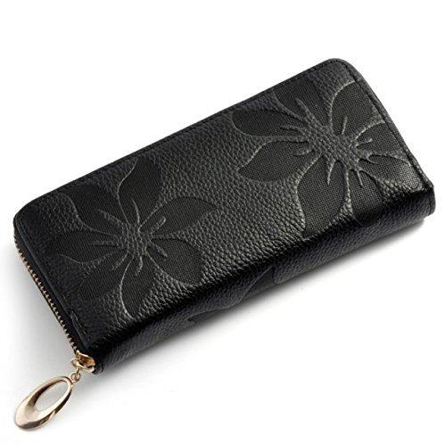 A-goo Die Frau portemonnaie kapok Leder - tasche MIT reißverschluss (I) A T7cj7WNvyN