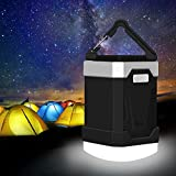 LED Camping Lantern - LED Camping Lantern, 13000mAh Power Bank with Phone Charger, 4W IP65 Waterproof Rechargeable Tent Light, 280 Hours of Light from a Single Charge - Portable for Outages, Emergencies, Hurricanes, Hiking