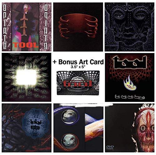 Tool: Complete Studio Album CD & DVD Collection + Bonus Art Card (Tool Dvd)