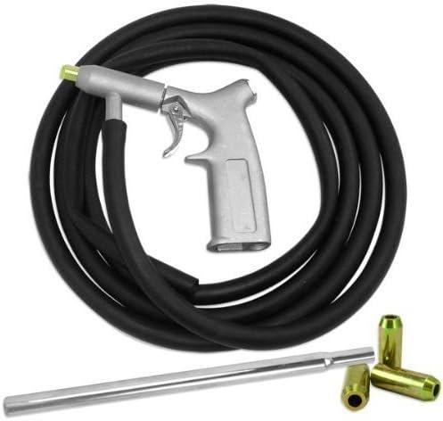Air Sand Blasting Kit Sandblasting Blaster Tool House Nozzle Tube Pick Up