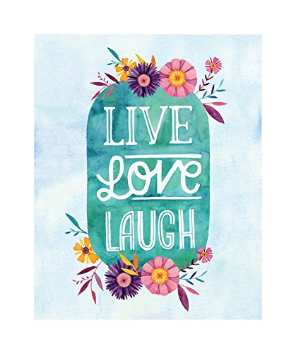 Studio Oh! Live Love Laugh by Becca Cahan Art Print