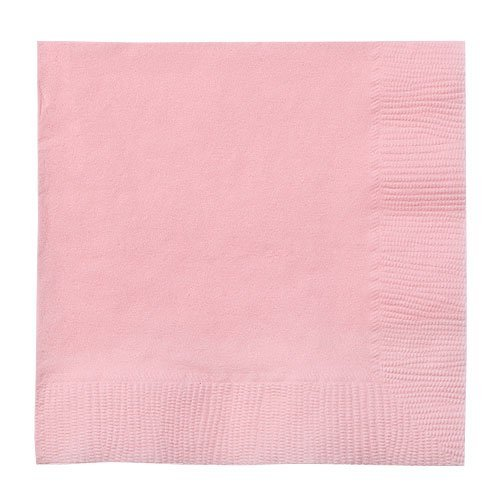 Party Dimensions Beverage Napkin, 24 Napkins, Pink