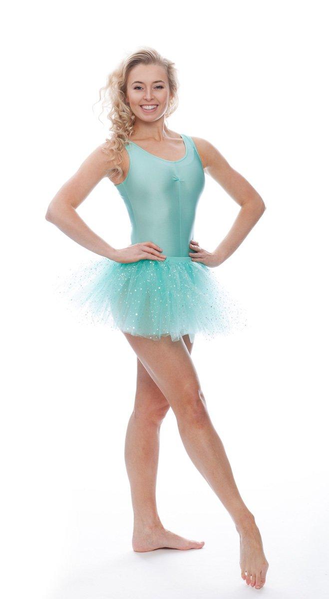 DANCEWEAR SLEEVELESS NYLON LYCRA LEOTARD DANCE BALLET GYMNASTIC KIDS GIFT WOMENS