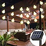 Solar String Lights Garden, 8 Modes 50 LED Globe