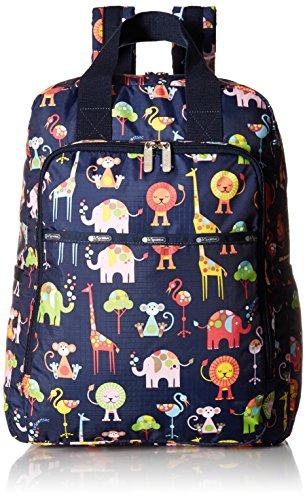 LeSportsac Women's Baby Utility Backpack, Zoo Cute
