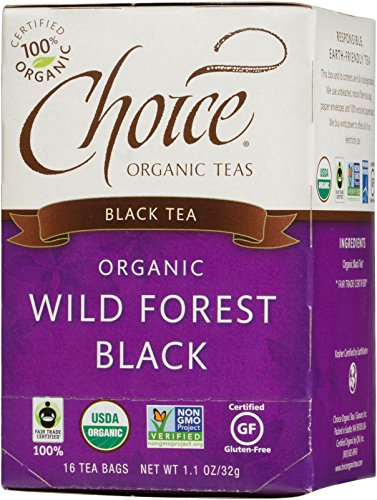 Choice Organic Teas Black Tea, 16 Tea Bags, Wild Forest Black (Tea Black Forest Tea)